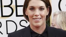 Producer Megan Ellison at the 71st annual Golden Globe Awards in Beverly Hills, California, January 12, 2014. (MARIO ANZUONI/REUTERS)