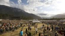 This new festival comes six years after 2008's Pemberton Festival turned into a logistical nightmare. (JENNIFER ROBERTS For THE GLOBE AND MAIL)