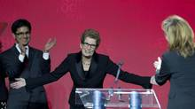 Incoming Ontario premier Kathleen Wynne still needs to face a general election. (Peter Power/The Globe and Mail)