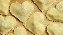 Heart-shaped ravioli. Stock image (Getty Images/iStockphoto/Getty Images/iStockphoto)