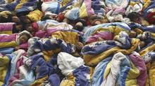 Children take a nap at a kindergarten in Zhengzhou in this 2006 photo. World Bank researchers found that China should have had 1.2 million more baby girls than were actually born in 2008. (STRINGER SHANGHAI/Reuters)