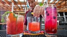 Drake Hotel mixologist Simon Ho (Jennifer Roberts for The Globe and Mail)