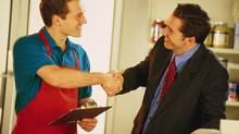 Asking potential employees how they handled specific situations will allow interviewers to better gauge how people conduct themselves in the workplace. (Comstock/Getty Images)