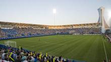 The Montreal Impact at their newly renovated Saputo Stadium (Graham Hughes/THE CANADIAN PRESS)