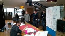 Behind the scenes at Media Molecule (Flickr.com)