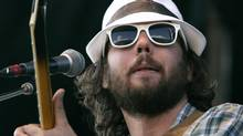 July 20, 2008. Whistler, BC. Kevin Drew with Broken Social Scene plays at theWhistler Music Festival in Whistler, BC, Sunday evening July 20, 2008. Photo: Laura Leyshon for the Globe and Mail (Laura Leyshon For The Globe and Mail)