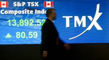 Toronto Stock Exchange (Kevin Van Paassen/The Globe and Mail)