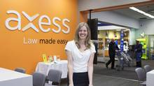 Axess Law's Lena Koke says people can expect the same level of service no matter which Wal-Mart they go to. (Matthew Sherwood for the globe and mail)