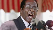 Zimbabwe President Robert Mugabe. (AP)