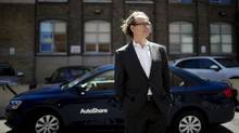AutoShare president Kevin McLaughlin says increased urban density benefits his company but it has also prompted more rivals. (Michelle Siu/The Globe and Mail)