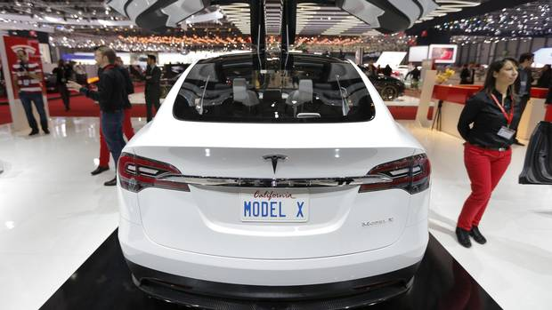 Tesla S Musk Says Model X Deliveries To Start In Months