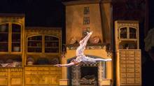 Emma Hawes is seen in Cinderella at The National Ballet of Canada, a work that has its moments but does little to innovate. (Aleksandar Antonijevic)