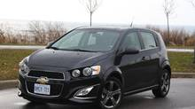 2013 Chevrolet Sonic. (Dan Proudfoot for The Globe and Mail)