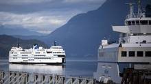 The Horseshoe Bay terminal in West Vancouver. (Rafal Gerszak for The Globe and Mail)