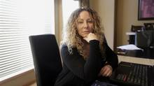 Jennifer Richardson, Director of Ontario's new Anti-human Trafficking Centre at her home in Winnipeg Manitoba, December 23, 2016. (Lyle Stafford For the Globe and Mail)