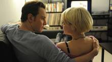 Michael Fassbender and Carey Mulligan in Shame.
