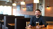 Patrick Asselin, owner of Brothers Beer Bistro, spent a full year working on his business strategy for the restaurant in Ottawa's ByWard Market. He says the thoughtful work he put into the 27-page document has kept his business from failing. (Dave Chan for The Globe and Mail)