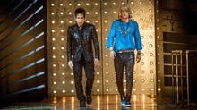 Ben Stiller plays Derek Zoolander and Owen Wilson plays Hansel in Zoolander 2. (Philippe Antonello)