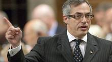 Industry Minister Tony Clement speaks during Question Period in the House of Commons on Sept. 27, 2010. (Pawel Dwulit/THE CANADIAN PRESS)