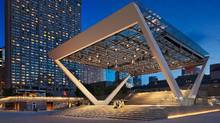 The Governor General's jury honoured three projects in Toronto with a strong bent toward the public realm, including the revitalization of Nathan Phillips Square. (Steven Evans)