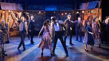 One of Strictly Ballroom: The Musical's most charming scenes is the sequence that takes place in the 'Spanish Quarter' of Sydney. (Alastair Muir)