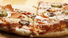 Pizza with mushroom (Slawomir Fajer/Getty Images/iStockphoto)
