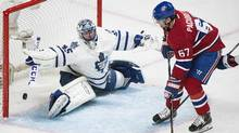 After coasting to a 4-1 win on Saturday night, Montreal has now won 10 straight games against Toronto. (Graham Hughes/THE CANADIAN PRESS)
