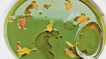 Chef David Lee's winter greens soup (Jennifer Roberts/Jennifer Roberts for The Globe and Mail)
