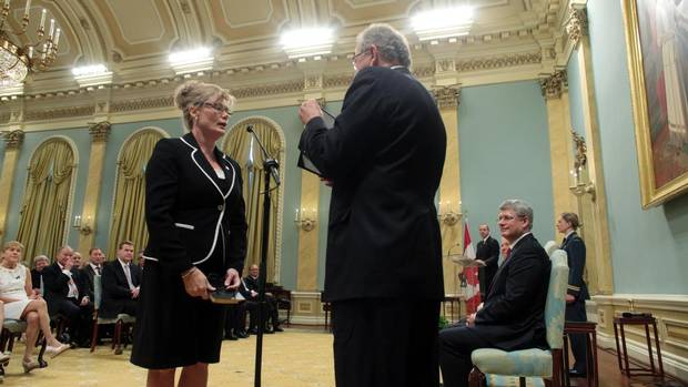 Shelly Glover is the Heritage Minister. (DAVE CHAN FOR THE GLOBE AND MAIL)