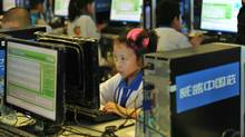 Chinese children attend a computer class to learn how to properly use the Internet, in Beijing on June 7, 2010. China defended its right to censor the Internet, saying it needed to do so to ensure state security, and cautioned foreign governments to respect and obey its online policies, as more than 400 million Chinese people are now online. (STR/AFP/Getty Images)