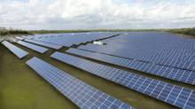 Canadian Solar Inc. saw its share price increase almost eightfold in 2013. (canadian solar)