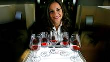 Assistant business professor Antonia Mantonakis found when people repeatedly sampled a wine, they thought the first sample was best. (Peter Power/Peter Power/THE GLOBE AND MAIL)