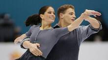 Jamie Salé and David Pelletier perform their pairs free skate to win the Olympic silver medal at the XIX Olympic Winter Games in Salt Lake City, Utah, Monday, Feb. 11, 2002. (Paul Chiasson/CP/Paul Chiasson/CP)