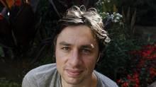 Zach Braff (Deborah Baic for The Globe and Mail)