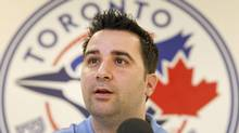 Toronto Blue Jays general manager Alex Anthopoulos has some decisions to make. (FRED THORNHILL/REUTERS)