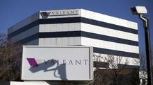 The headquarters of Valeant Pharmaceuticals International Inc., seen in Laval, Que. (© Christinne Muschi / Reuters)