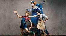 Skylar Campbell, Heather Ogden and Piotr Stanczyk in Pinocchio. (Karolina Kuras/National Ballet of Canada)