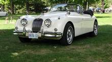This rebuilt 1959 XK150(S) Drophead Coupe is owned by Peter Lewis.