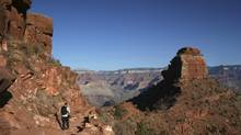 Approaching Cedar Ridge in the Grand Canyon. (Martin McCarthy/iStockphoto)