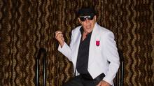 Bob Wagner, aka Mr. Bob, has 140 Elvis Presley songs in his air guitar repertoire. (Tim Fraser For The Globe and Mail)