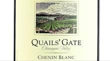 Quails' Gate Chenin Blanc 2011 BC VQA Okanagan Valley $18.99 (Handout/Handout)