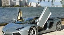 2013 Lamborghini Aventador LP 700-4 Roadster (Petrina Gentile for The Globe and Mail)