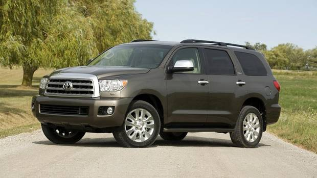 big toyota suv has heavy duty hauling power with a gas. Black Bedroom Furniture Sets. Home Design Ideas