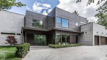 This house in Hogg's Hollow with an asking price of $7.38-million, was built in the Los Angeles style – around a swimming pool.