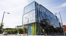 The first George Brown College residence opened last fall in Toronto. (Michelle Siu/The Globe and Mail)