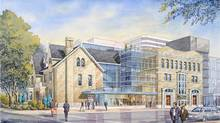 Artist's rendering of proposed expansion of Factory Theatre as envisioned by Ken Gass