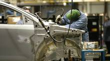The Ford auto assembly plant in Oakville, Ont. (FRED LUM/THE GLOBE AND MAIL)
