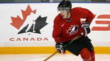 Kyle Turris skates a drill during the Canadian national junior hockey team development camp in Ottawa on Sunday July 27, 2008. The camp runs from July 26 to the July 29, 2008. (Sean Kilpatrick)