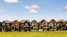 Many buyers continued flocking to Toronto's suburbs, creating fierce competition for more affordable homes and driving up prices in several of the region's bedroom communities. (MARK BLINCH/REUTERS)