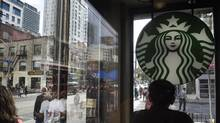 Starbucks Canada is earning praise from mental-health advocates and being touted as a smart business decision by benefits experts for their increase in employee funding for mental-health treatment. (Fred Lum/The Globe and Mail)